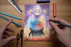 Zimorodek klejnot wody i ognia